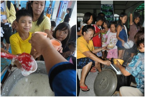 CDRC conducts soup kitchen at evacuation centers in Marikina and Quezon City