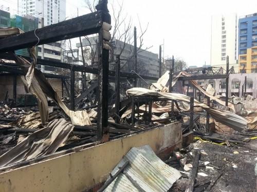 burned del Pilar