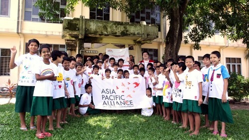 APAD T-shirt distribution